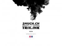 2much.ch Webseite Vorschau