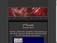 2ndtruth.de Webseite Vorschau