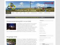 38er.at Webseite Vorschau