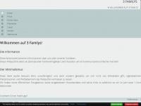 3familys.at Webseite Vorschau