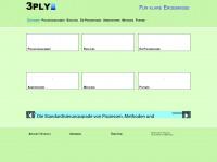 3ply.de Webseite Vorschau