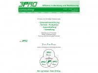 3pro-consulting.de Webseite Vorschau
