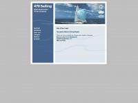 470sailing.de Webseite Vorschau