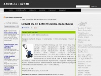 47638.de Webseite Vorschau