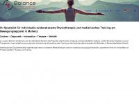4balance.ch Webseite Vorschau