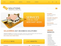 4business-solutions.de Webseite Vorschau