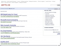 4byte.de Webseite Vorschau