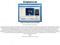 4captains.de Webseite Vorschau
