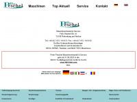 4clean.de Webseite Vorschau