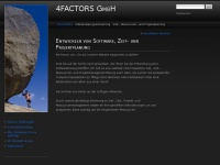 4factors.ch Webseite Vorschau
