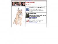 4fuechse.de Webseite Vorschau