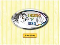 4horsesndogs.de Webseite Vorschau