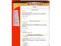 4rhythm.de Webseite Vorschau