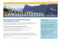 4waldstaettersee.ch Webseite Vorschau