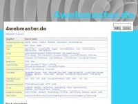 4webmaster.de Webseite Vorschau