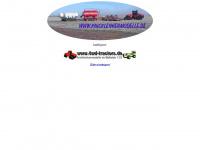 4wd-tractors.de Webseite Vorschau