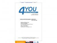 4you-system.at Webseite Vorschau