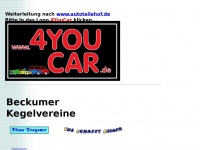 4youcar.de Webseite Vorschau