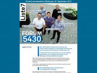5430.ch Webseite Vorschau