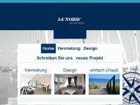 54grad-nord.de Webseite Vorschau
