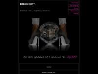54disco.de Webseite Vorschau