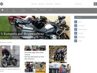 5kumpels-auf-moppeddtour.de Webseite Vorschau