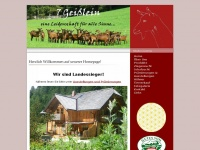 7geisslein.at Webseite Vorschau