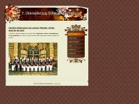 7grenadierzug-gustorf.de Webseite Vorschau