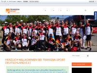 transdiaev.de Webseite Vorschau