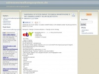 Adressverwaltungssystem.de