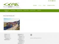 aebiholzbau.ch Webseite Vorschau