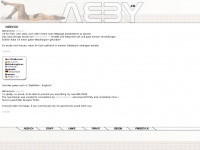 aeby.ch Webseite Vorschau