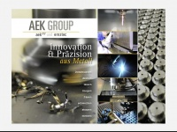 aek-group.de Webseite Vorschau