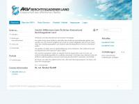 aekv-bgl.de Webseite Vorschau