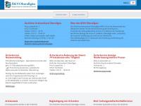 aekv-oa.de Webseite Vorschau