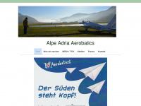aerobatics.at Webseite Vorschau