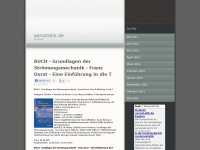 aerostatik.de Webseite Vorschau