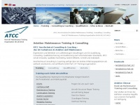 aerotechnical.de Webseite Vorschau