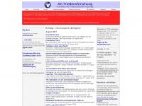 agfriedensforschung.de