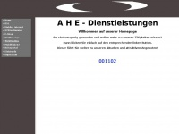 Ahe-dienstleistungen.de