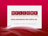 akademie-der-lehre.de Webseite Vorschau