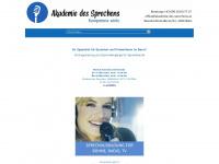 akademie-des-sprechens.at Webseite Vorschau