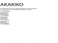 akaiko.de Webseite Vorschau