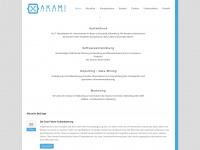 akami.de Webseite Vorschau