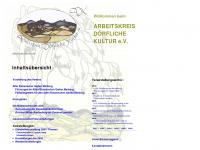 akdk.de Webseite Vorschau