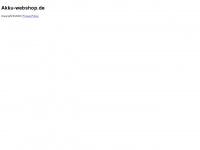 akku-webshop.de Webseite Vorschau