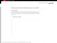uvhw.de Webseite Vorschau