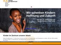 aktion-strassenkinder.de Webseite Vorschau