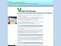 aktion-vorfahrt-fuer-fairness.de Webseite Vorschau