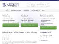 akzent-consulting.de Webseite Vorschau